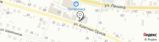 Шинник на карте Каменска-Уральского