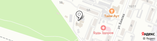 Моем Город на карте Каменска-Уральского
