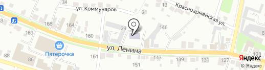Автоюрист на карте Каменска-Уральского