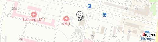 Следственный отдел по г. Каменск-Уральский на карте Каменска-Уральского