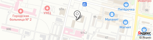 Старт на карте Каменска-Уральского