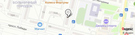 AUTO IN LINE на карте Каменска-Уральского