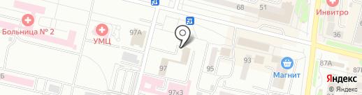 Центр гигиены и эпидемиологии в Свердловской области на карте Каменска-Уральского