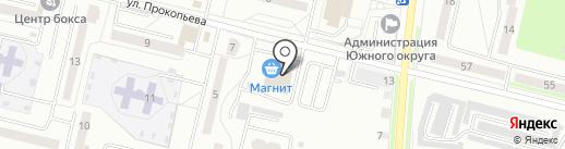 Магнит на карте Каменска-Уральского