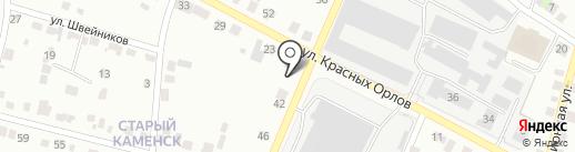 Магазин по продаже фастфудной продукции на карте Каменска-Уральского