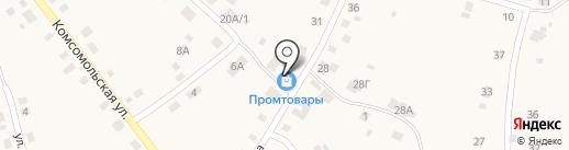 Каменское районное потребительское общество на карте Позарихи