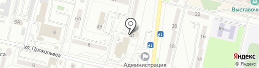 Сувенирка на карте Каменска-Уральского