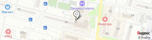 Артемон-Визаж на карте Каменска-Уральского