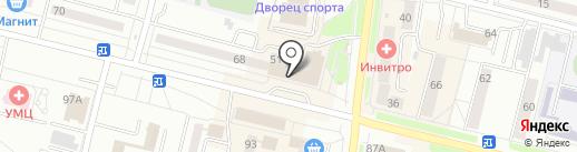 Магазин джинсовой одежды на карте Каменска-Уральского