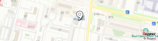 Бархан на карте Каменска-Уральского