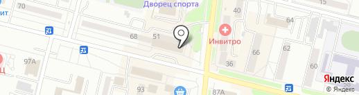 Банкомат, Уральский транспортный банк, ПАО на карте Каменска-Уральского