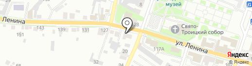 Большегруз на карте Каменска-Уральского