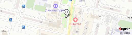 Магазин детского питания на карте Каменска-Уральского
