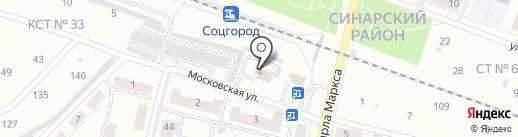 Vintage на карте Каменска-Уральского