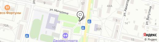 Связной на карте Каменска-Уральского