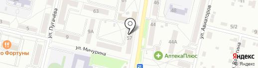 Шар Дизайн на карте Каменска-Уральского