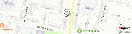 Компас тревел на карте Каменска-Уральского