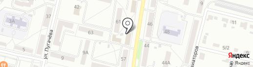 Винтаж на карте Каменска-Уральского