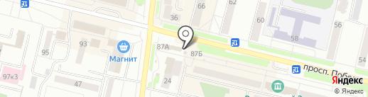 Магазин мясных продуктов на карте Каменска-Уральского