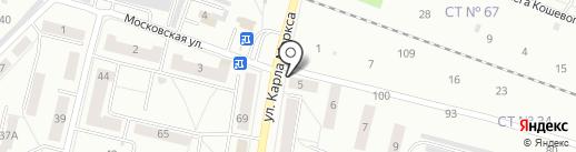 Продуктовый магазин на карте Каменска-Уральского