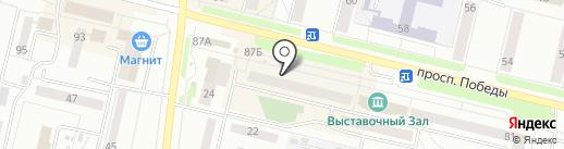 Эвалар на карте Каменска-Уральского