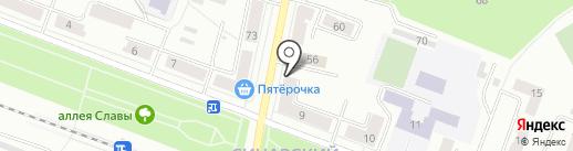 Закусочная на ул. Олега Кошевого на карте Каменска-Уральского
