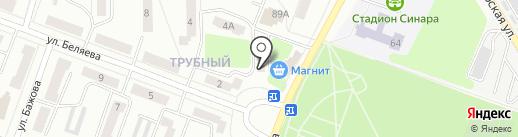 Успех на карте Каменска-Уральского