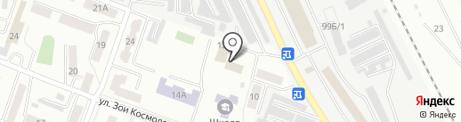 Центр компенсаций и субсидий муниципального образования, МКУ на карте Каменска-Уральского