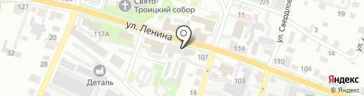 Тепло с сухо на карте Каменска-Уральского