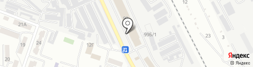 УАЗик ГАЗик на карте Каменска-Уральского