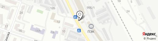 Шиномонтажная мастерская на карте Каменска-Уральского