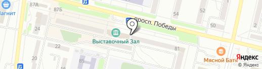 Бебики на карте Каменска-Уральского