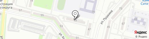 Государственная жилищная инспекция на карте Каменска-Уральского
