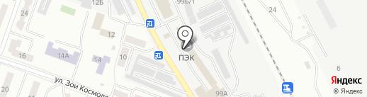 Сервис-комплект на карте Каменска-Уральского