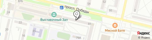 Параллель-Ростов на карте Каменска-Уральского