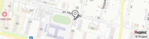 Мичурина 16, ТСЖ на карте Каменска-Уральского