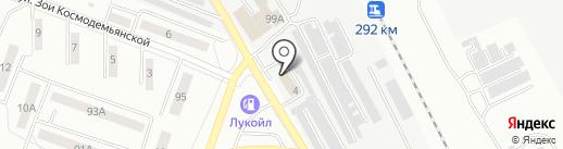 Отдел полиции №22 на карте Каменска-Уральского