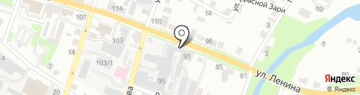 Градиент на карте Каменска-Уральского