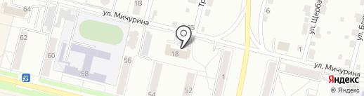ЖЭУ №5 на карте Каменска-Уральского
