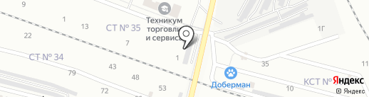Кузов на карте Каменска-Уральского