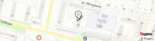 Малыш и Карлсон на карте Каменска-Уральского