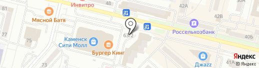Ключик на карте Каменска-Уральского
