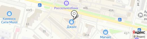 Fruit & Candy на карте Каменска-Уральского