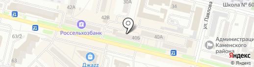 Интерсвязь на карте Каменска-Уральского