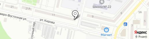 ОкноФорт на карте Каменска-Уральского