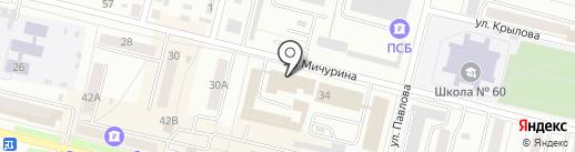 Отдел по борьбе с экономическими преступлениями на карте Каменска-Уральского