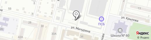 Право на карте Каменска-Уральского