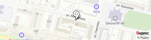Фантазия на карте Каменска-Уральского