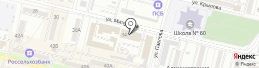 МЭМ на карте Каменска-Уральского