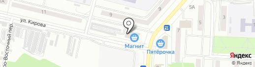 Ивановский трикотаж на карте Каменска-Уральского